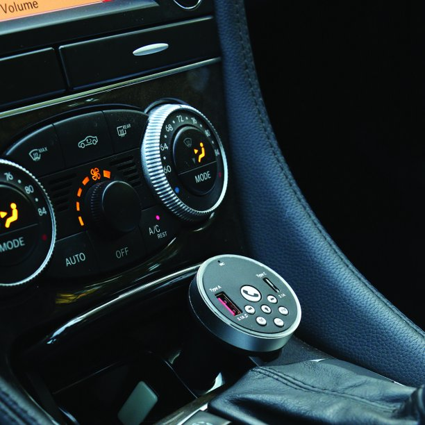 Monster Bluetooth FM Transmitter with LED Accent Ring