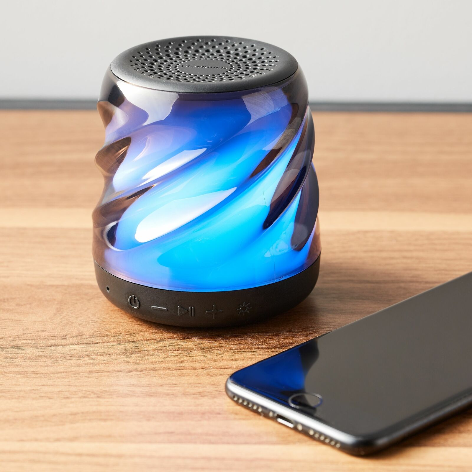 Blackweb Bluetooth Wireless Speaker with Color Changing LED Lights