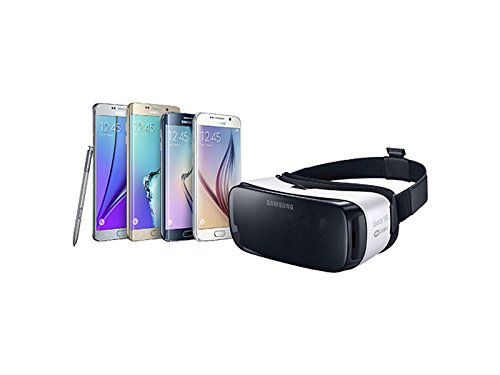 Samsung Gear VR Virtual Reality Console Headset (USA Version) with Samsung Gear VR Controller All In One Bundle For Galaxy S7, Galaxy S7 edge, Galaxy Note5, S6 edge+, S6 and S6 edge