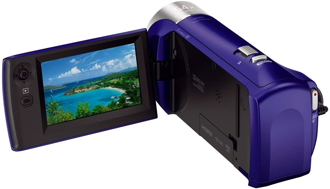 Sony HDRCX240/LVideo Camera with 2.7-Inch LCD (Blue)