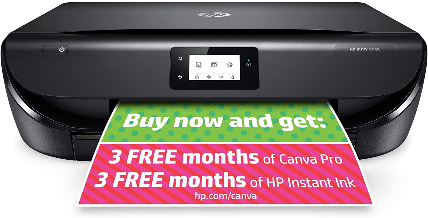 HP ENVY 5055 Wireless All-in-One Photo Printer, HP Instant Ink
